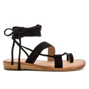 NEW Jeffrey Campbell Leather Lace up Sandals